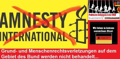 Amnesty keine Menschenrechte in der BRD